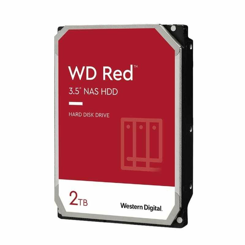 WD Red 2TB 3.5 SATA 256MB
