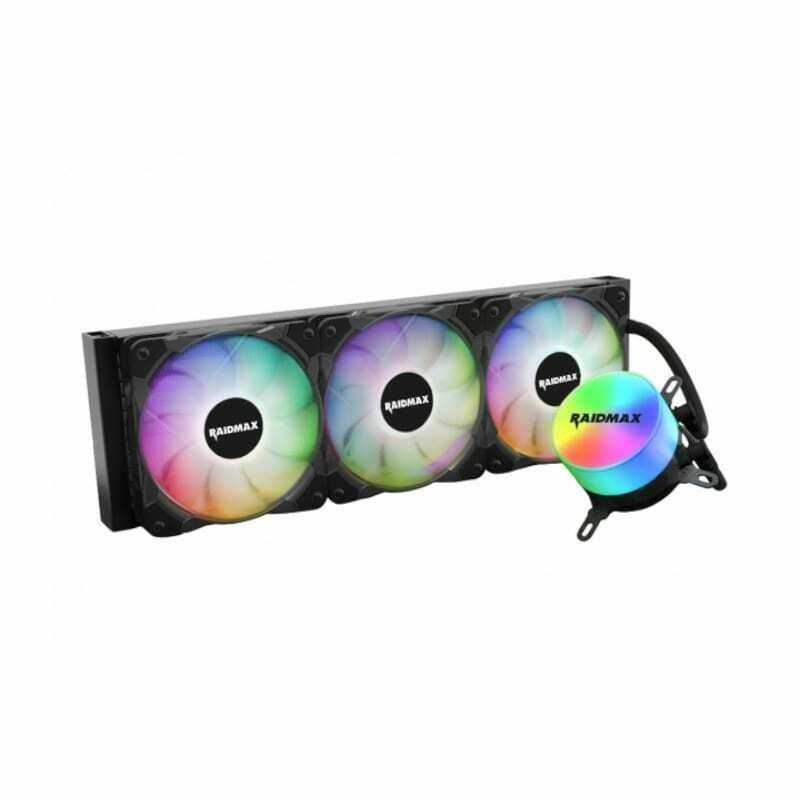 Raidmax CPU Liquid Cooler Tornado ARGB 360mm