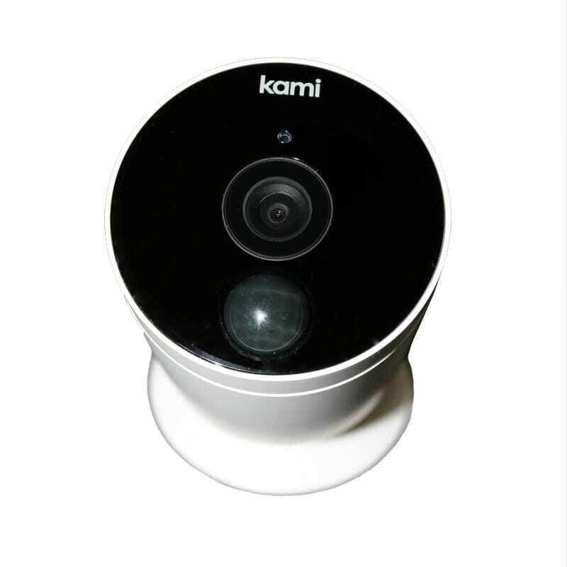 Kami IP Camera 1080P External Bullet Wireless - White