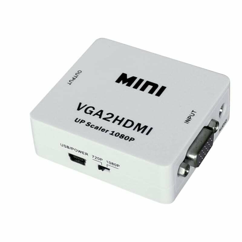 HDCVT VGA to HDMI with Audio Convertor
