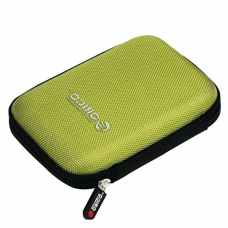 Orico 2.5 Portable Hard Drive Protector Bag - Green
