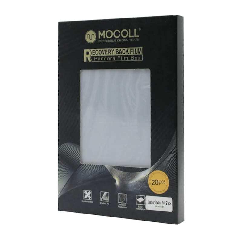 Mocoll Recovery Back Film - PVC Black , Pandora Film Box 20pcs