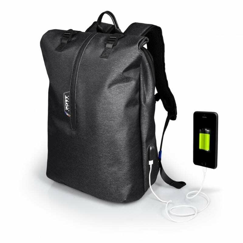 Port Designs NEW YORK 15.6 Backpack Case - Grey