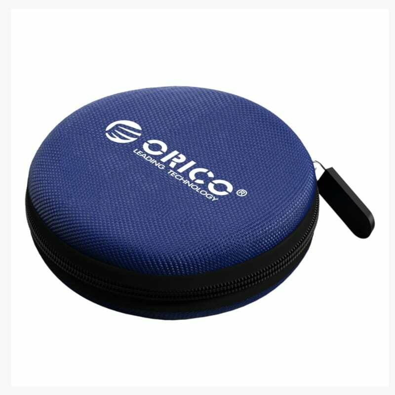 Orico Headset/Cable EVA case round - Blue