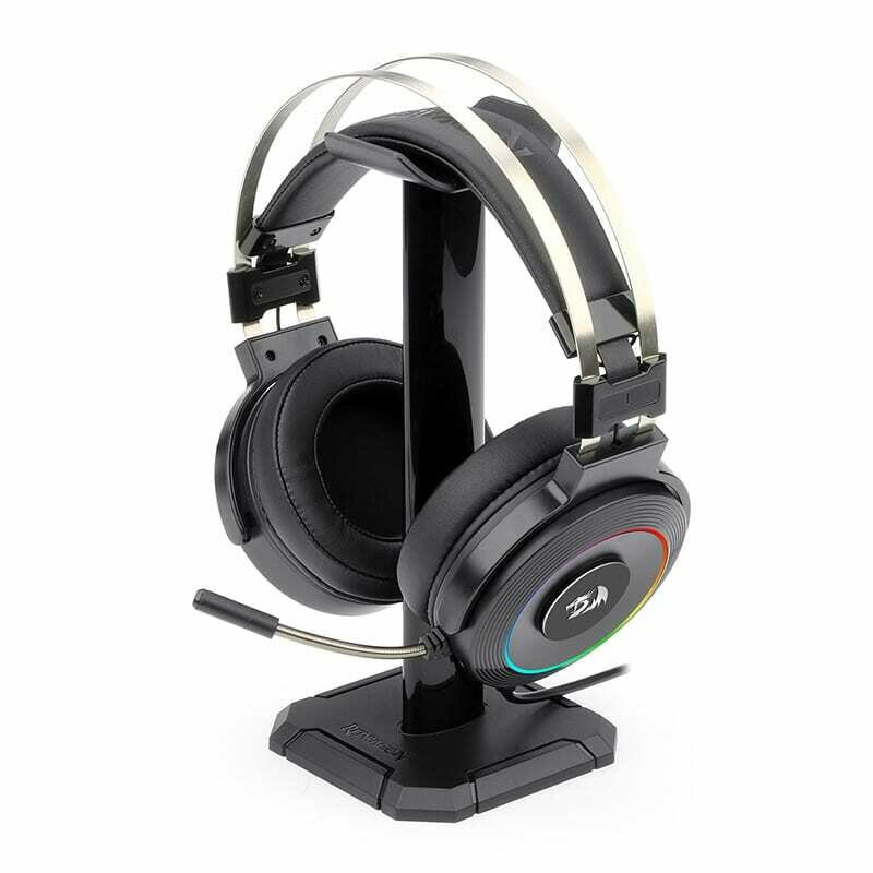 Redragon Lamia 2 USB , Virtual 7.1 , 3D Sound Effect , RGB , USB , PC/PS3/PS4 , Stand Included Gaming Headset - Black
