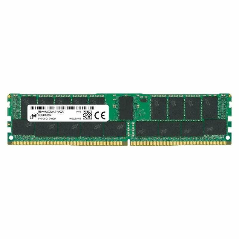 Micron 64GB DDR4 3200MHz Dual Rank Registered Dimm
