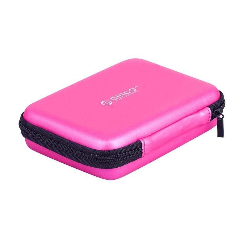 Orico 2.5 Portable Hard Drive Protector Bag - Pink