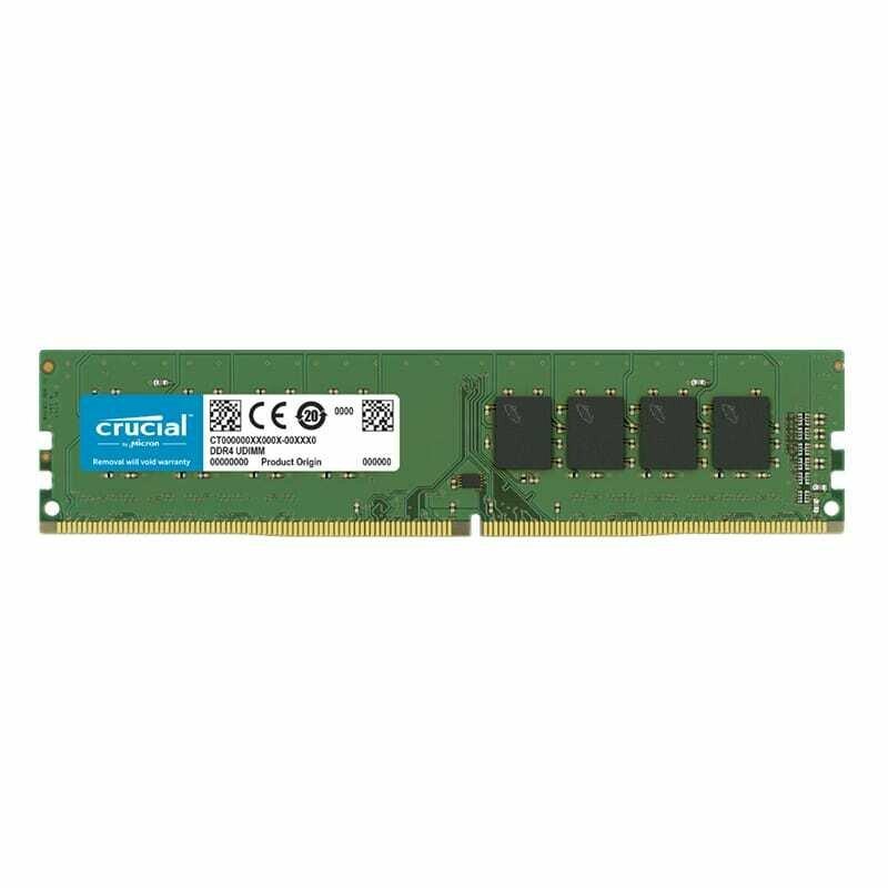Crucial 16GB DDR4 2666MHz Desktop Memory