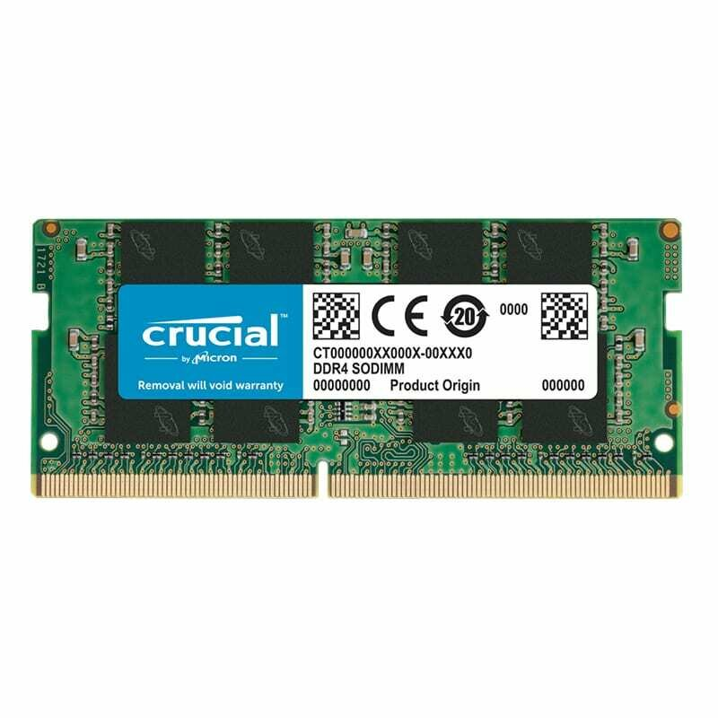 Crucial 16GB DDR4 2666MHz SO-DIMM