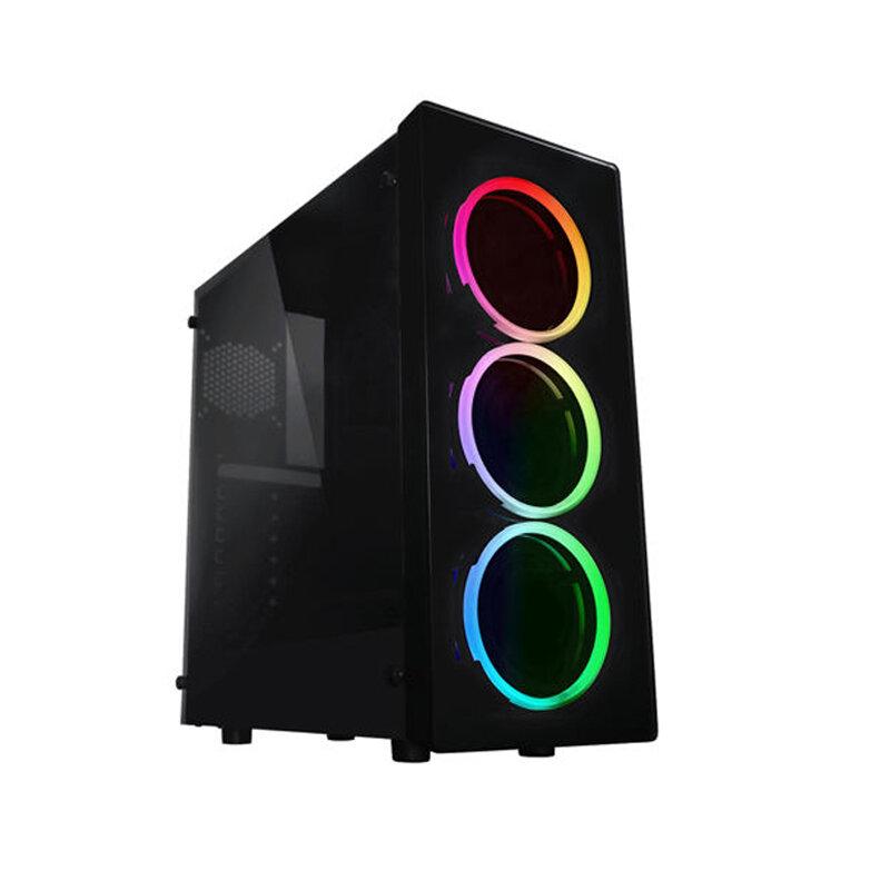 Raidmax Neon Window ARGB LED (GPU 355mm) ATX,Micro ATX Chassis Black