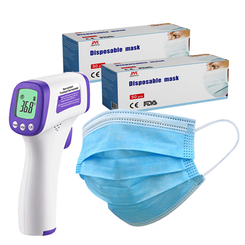 Thermometer + 100 x 3-Ply Bundle