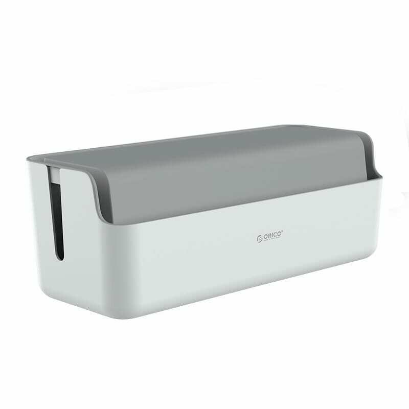 Orico Storage Box for Power Cable and Surge Protector 43x15.8x17cm - Grey