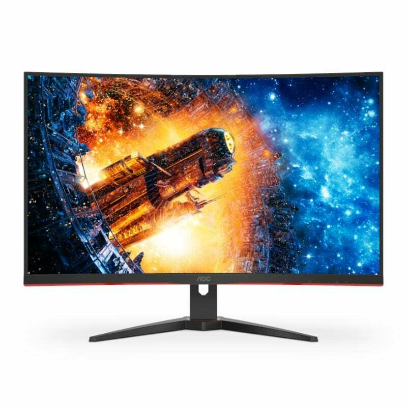 AOC CQ32G2E FreeSync Curved 31.5 144Hz 1ms VA Gaming Monitor