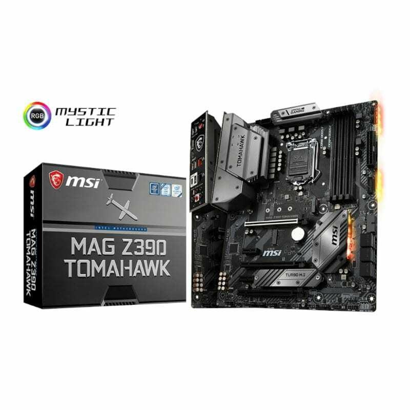 MSI MAG Z390 Tomahawk Intel LGA1151 ATX Gaming Motherboard