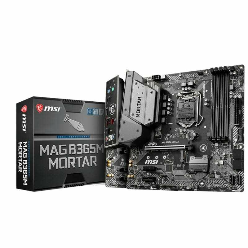 MSI B365M Mortar Intel LGA1151 ATX Gaming Motherboard