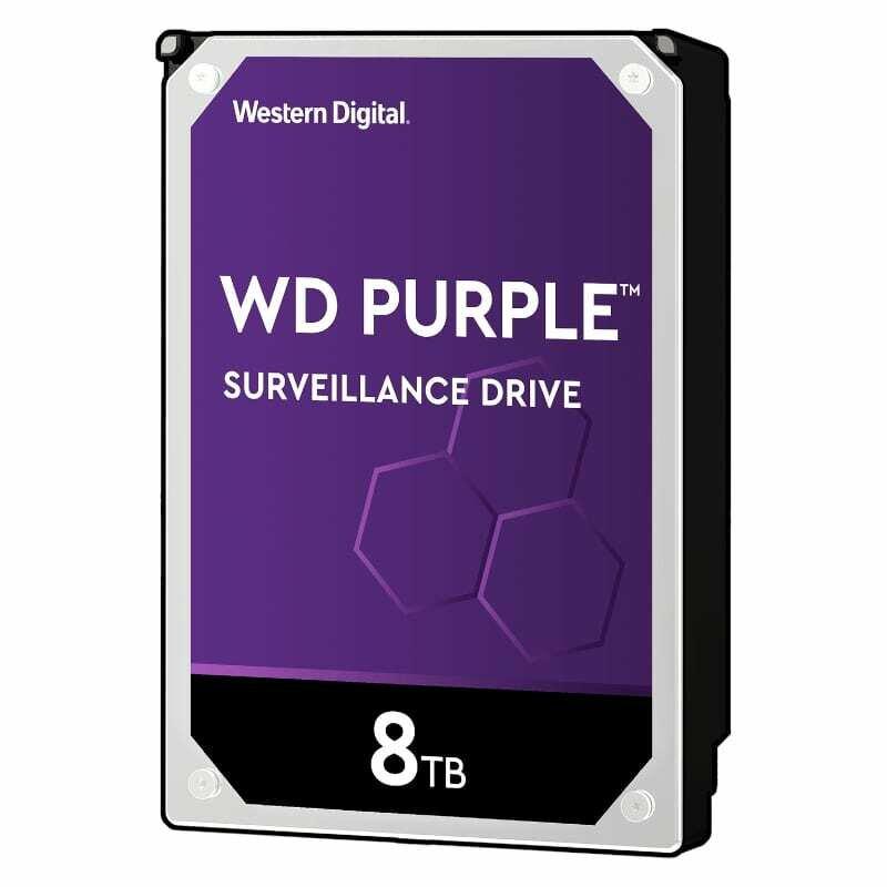 WD Purple 8TB 3.5 SATA 256MB