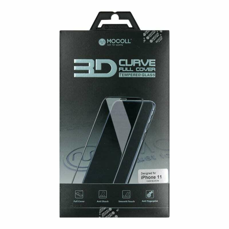 Mocoll 3D Tempered Glass Full Cover Screen Protector Iphone 11 Black