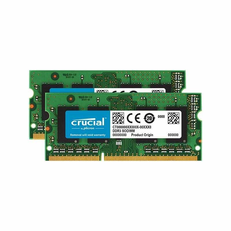 Crucial Mac 8GBKit (4GBx2) DDR3 1600Hz SO-DIMM