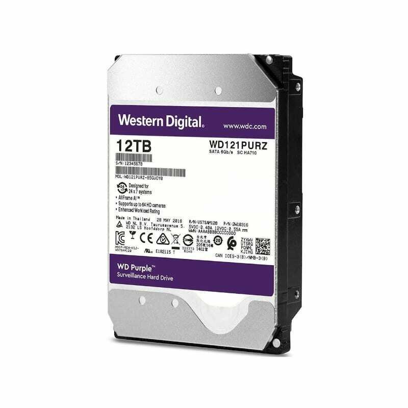 WD Purple 12TB 3.5 SATA 256MB