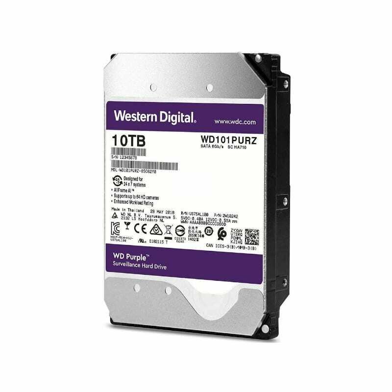 WD Purple 10TB 3.5 SATA 256MB