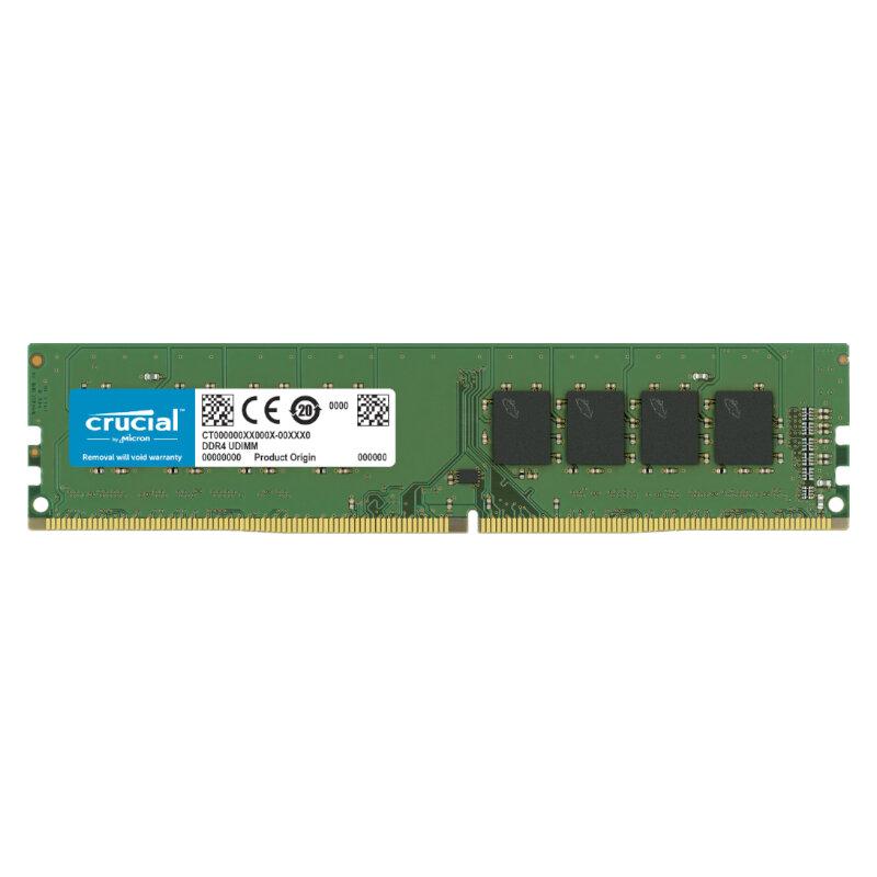Crucial 4GB DDR4 2666MHz Desktop Single Rank Memory