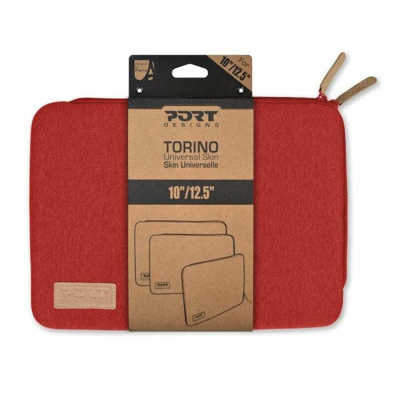 Port Designs TORINO 10/12.5 Notebook Sleeve Red