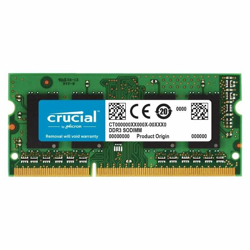 Crucial Mac 8GB DDR3 1600MHz SO-DIMM