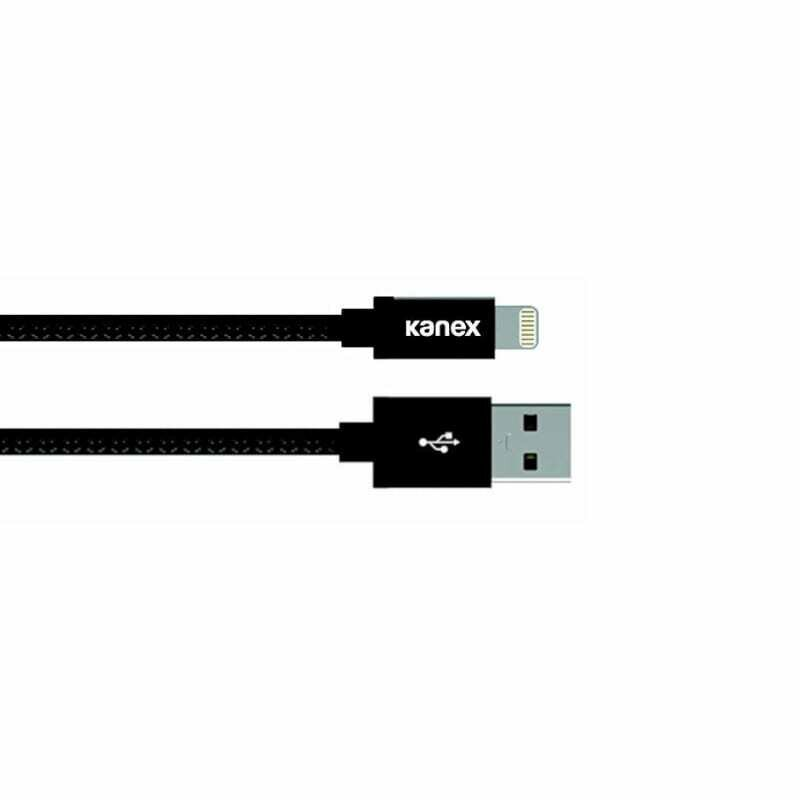 Kanex Lightning 2m Durabraid Cable Matt Black