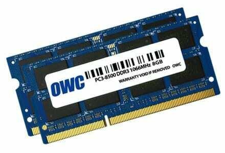 OWC Mac 16GBKit (8GB x 2)DDR3 1066MHz SO-Dimm
