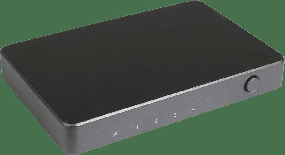 HDCVT 4x1 HDMI 2.0 Switch with Audio