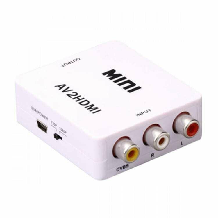 HDCVT Mini AV to HDMI 1080P Converter