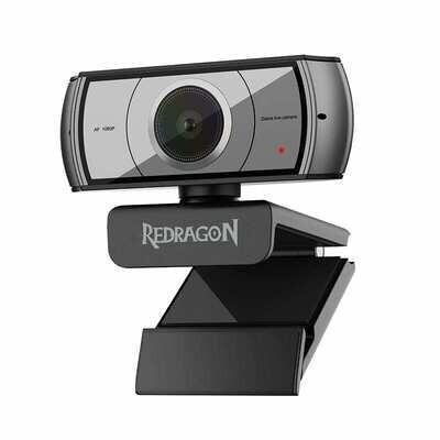 Redragon APEX 1080p,Tripod Stand,30F FPS PC Webcam - Black
