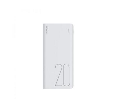 Romoss Sense6+ 20000mAh QC Type-C Power Bank - White