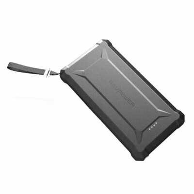 RAVPOWER 20100mAh USB,IP67,Type-C PD45W/QC3.0 Power Bank Black