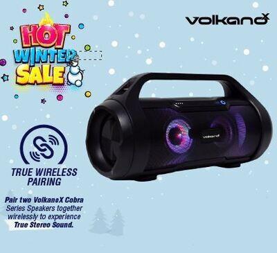 VolkanoX Cobra Series Bluetooth Speaker Black