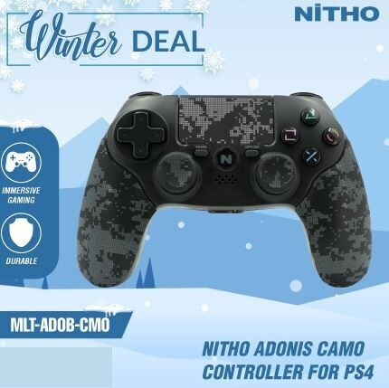 Nitho Adonis Camo Controller for PS4