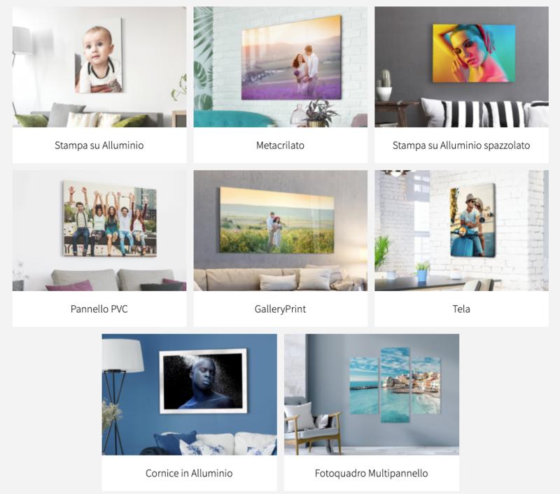 Foto su pannelli in vari formato  (a preventivo)