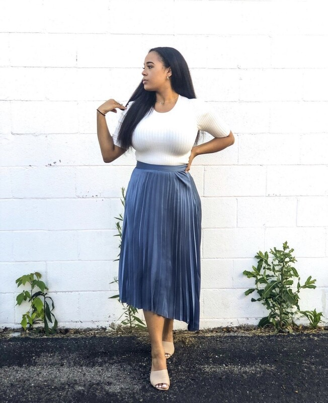 Bishop + Young- Untamed Pleated Midi Skirt
