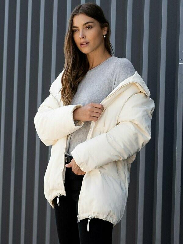 Fifteen Twenty- Long Puffer Jacket