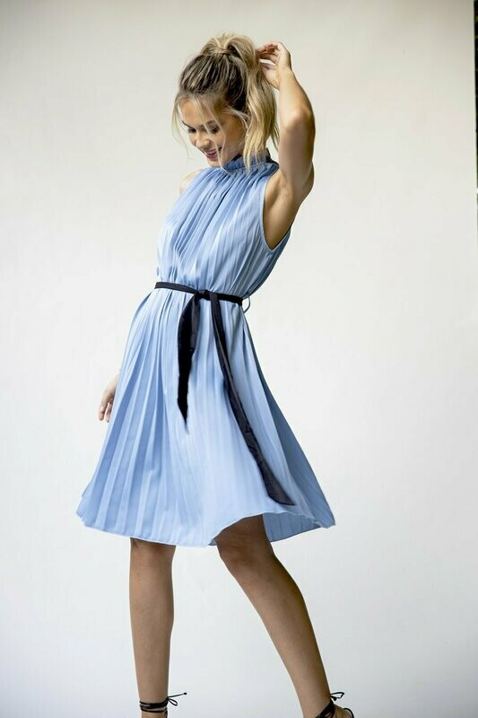 Bishop + Young- D'Orsay Pleat Dress