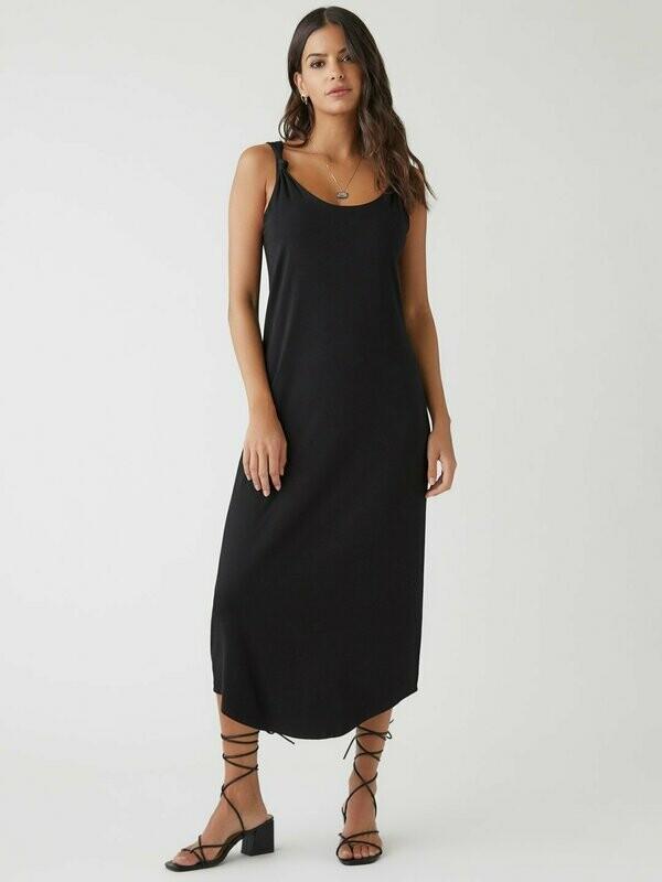 Fifteen Twenty- Double Layer Black Tank Dress