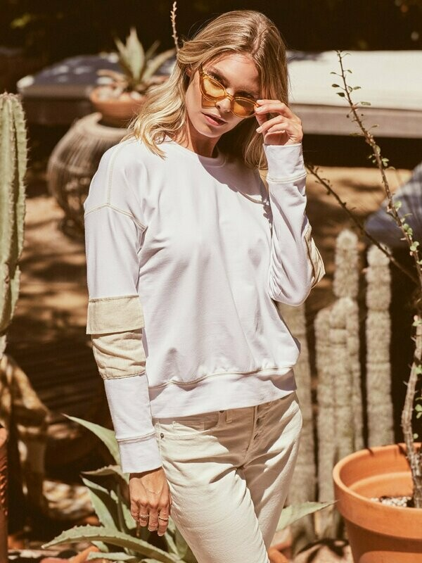 Fifteen Twenty- Cargo Pocket Sweatshirt