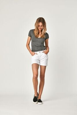 Mavi- Pixie White Shorts