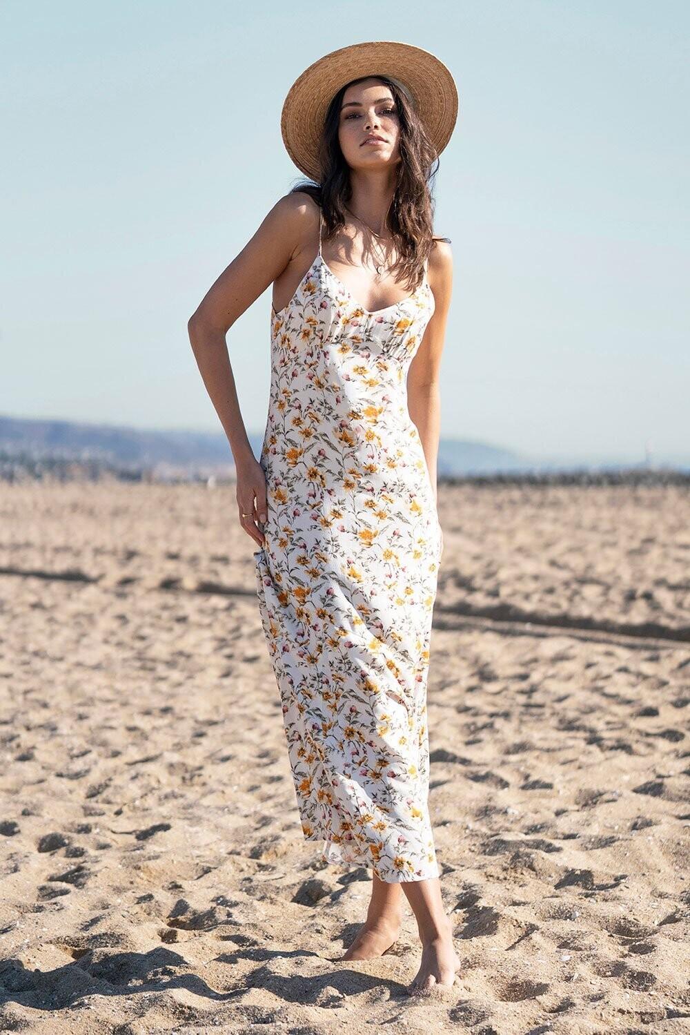 Saltwater Luxe- Sharice Midi Dress
