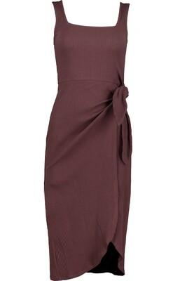 Bishop + Young- Shawna Side Tie Dress