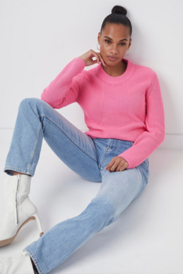French Connection- Nadia Mozart Rib Knit Sweater