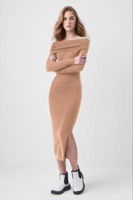 French Connection- Babysoft Off The Shoulder Dress