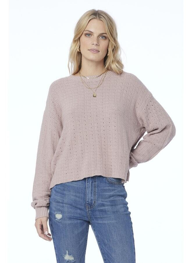Saltwater Luxe- Long Sleeve Sweater