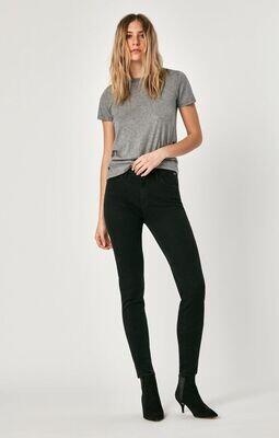 Mavi- Alissa Brushed Black Jean