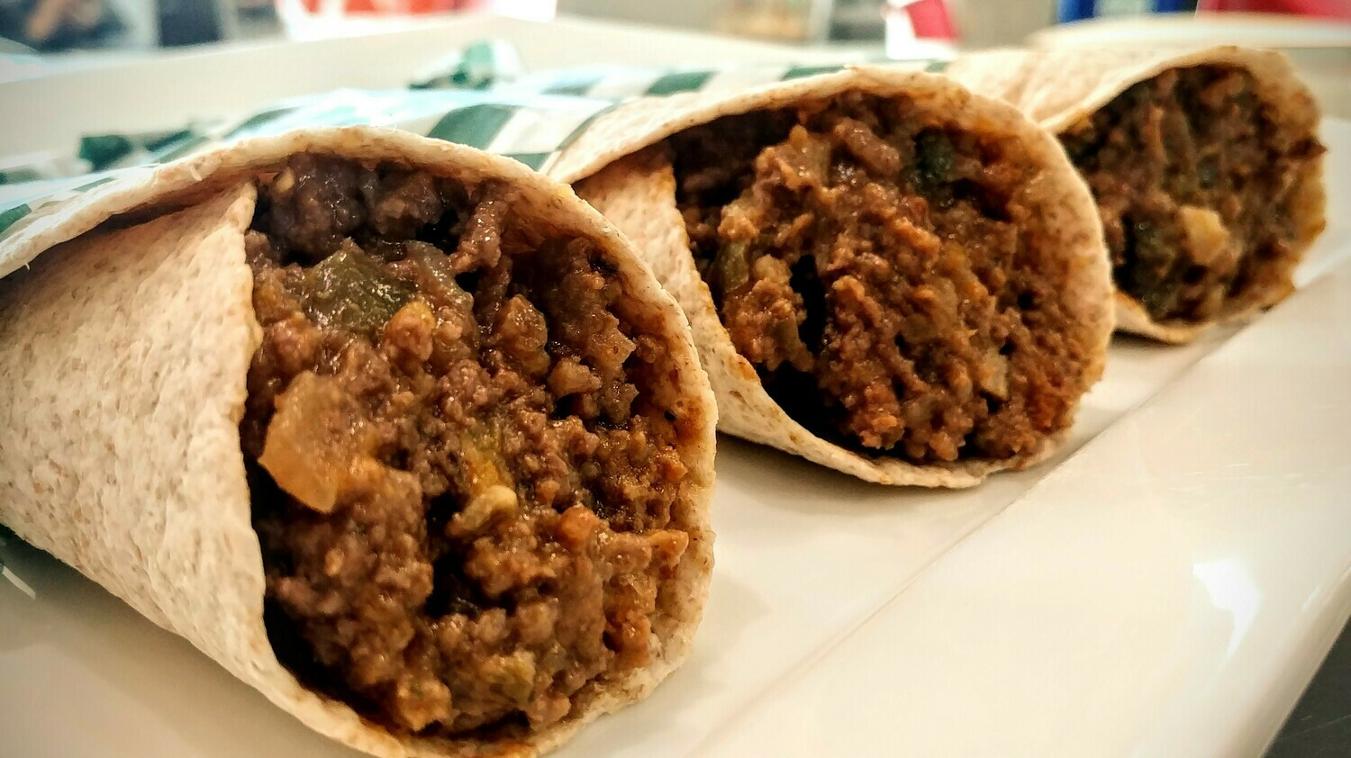 WRAP - Steak, Caramelized Onions w/o Cheese